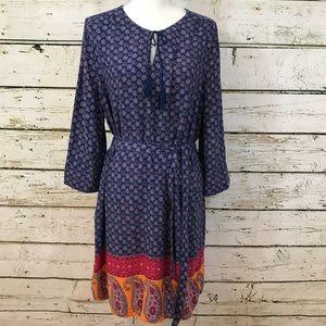 FADED GLORY Tunic dress multicolor Sz XL